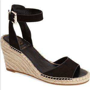 VINCE CAMUTO Tagger Espadrille Wedge Sandals 9